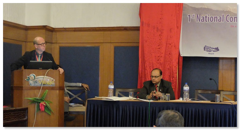 Dr-MIke-Smith-delivers-presentation-about-rural-ear-camps,-meeting-chaired-by-Prof.-Bimal-Sinha---web